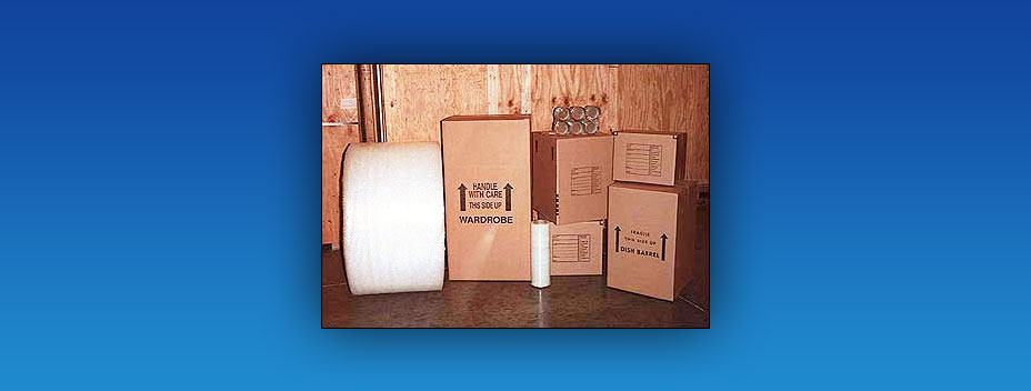 A-1 Moving Company Golden Valley, MN – Moving Supplies – Boxes Packing Paper Tape and carpet mats.
